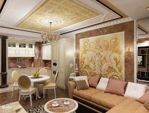 Дизайн проект двухкомнатной квартиры Екатеринбург